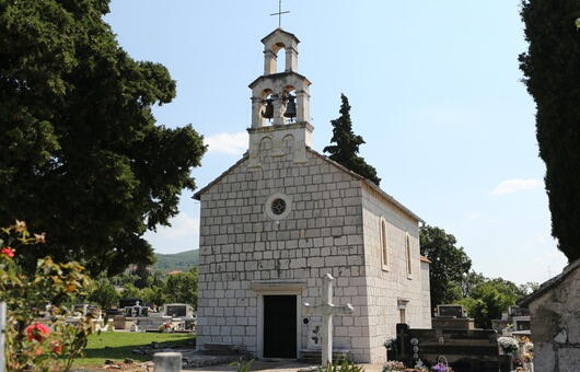 Church of All Saints, Koprivno